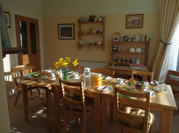 2019 Lymehurst b&b breakfastroom
